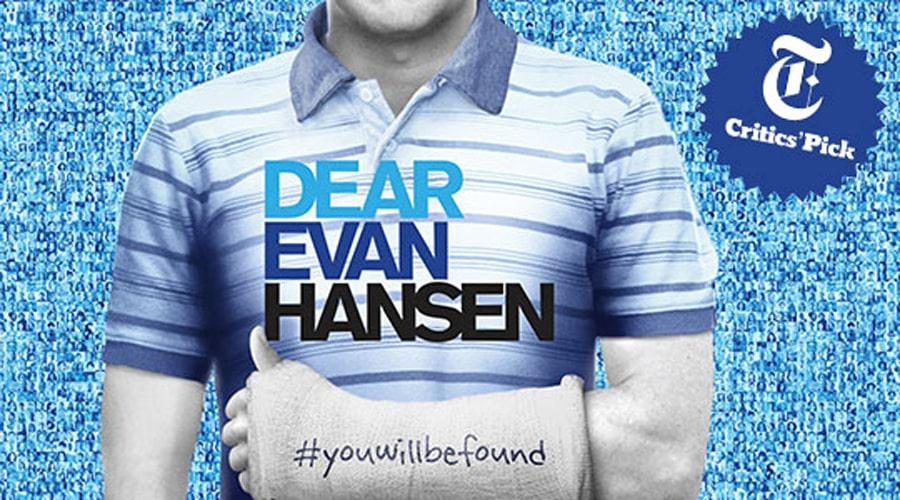 Dear Evan Hansen tickets Broadway