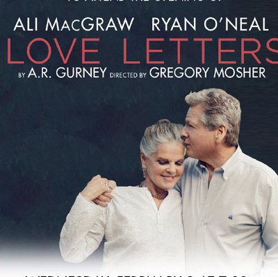 Love Letters UK Tour Starring Ali McGraw And Ryan ONeal