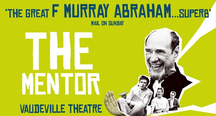 F Murray Abraham stars in The Mentor at the Vaudeville Theatre