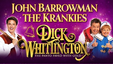 John barrowman and The Krankies in Dick Whittington at Opera House Manchester