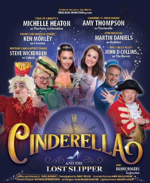 Cinderella Christmas Panto 2018 comes to York