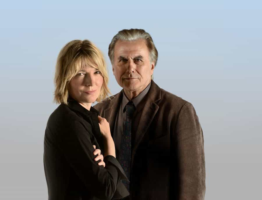 Jemma Redgrave and Olivier Cotton in Duet For One UK Tour