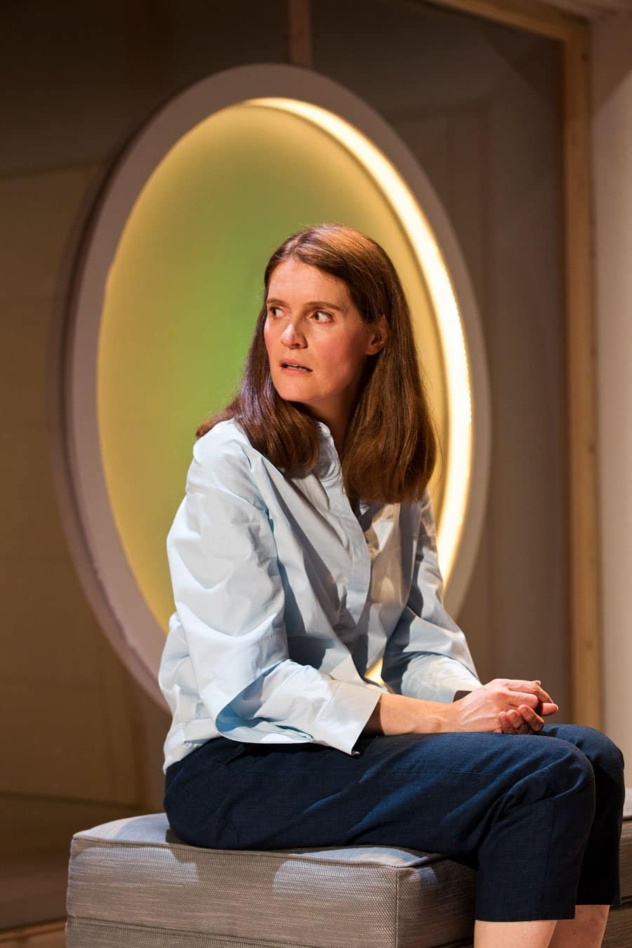 Justine Mitchell in Bodies at Royal Court Theatre