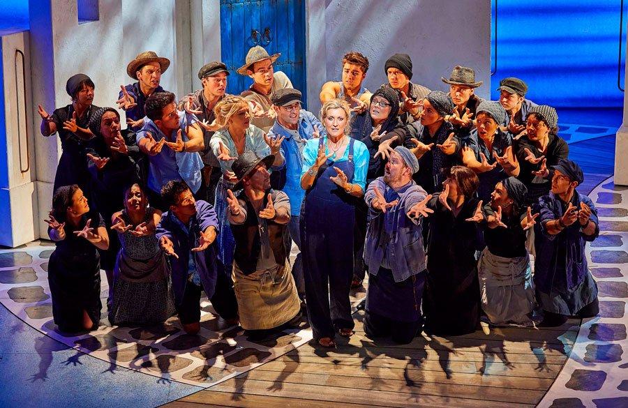 Book now for Mamma Mia! at the Novello Theatre