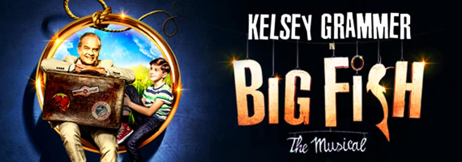 Big ish the musical starring Kelsey Grammer at The Other Palace