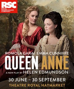 Royal Shakespeare Company Queen Anne Tickets