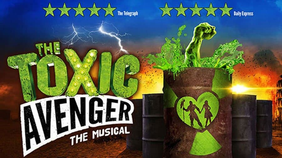 The Toxic Avenger tickets at the Arts Theatre