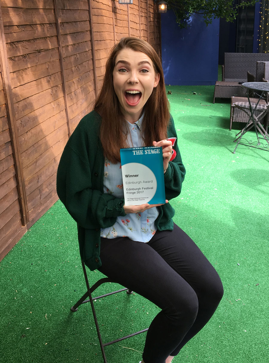 Milly Thomas wins Stage Edinburgh Award for Dust