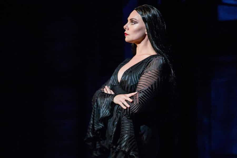 Samantha Womack in The Addams Familyd