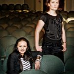 Frances Barber and Clare O'Brien