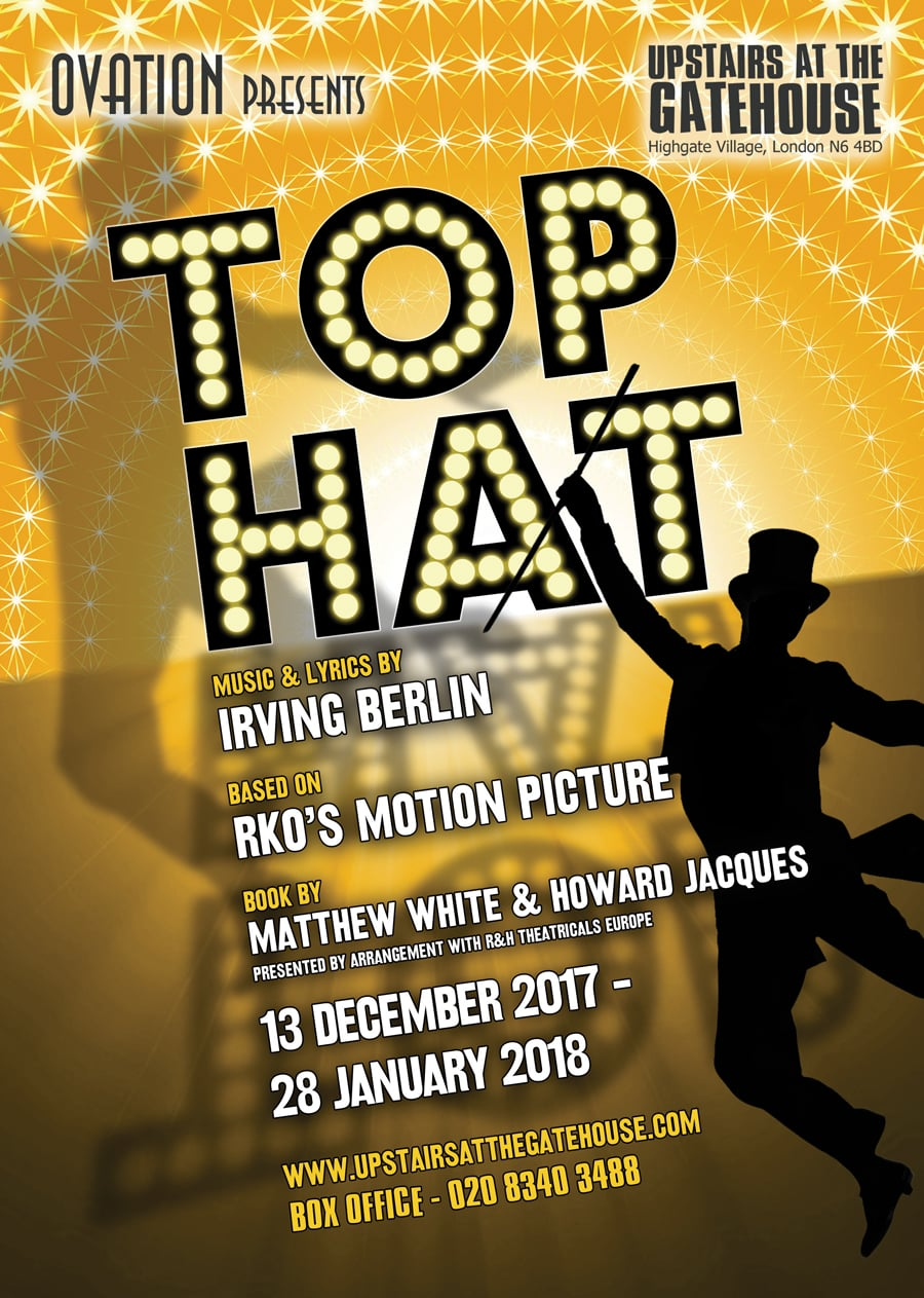 Top Hat Upstairs at the Gatehouse