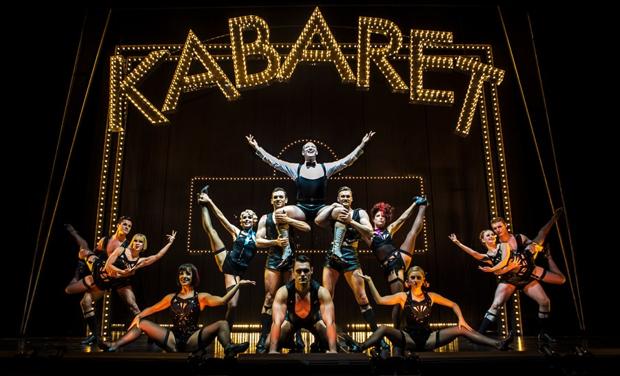 FIRST LOOK: Will Young and Louise Redknapp in Cabaret UK Tour