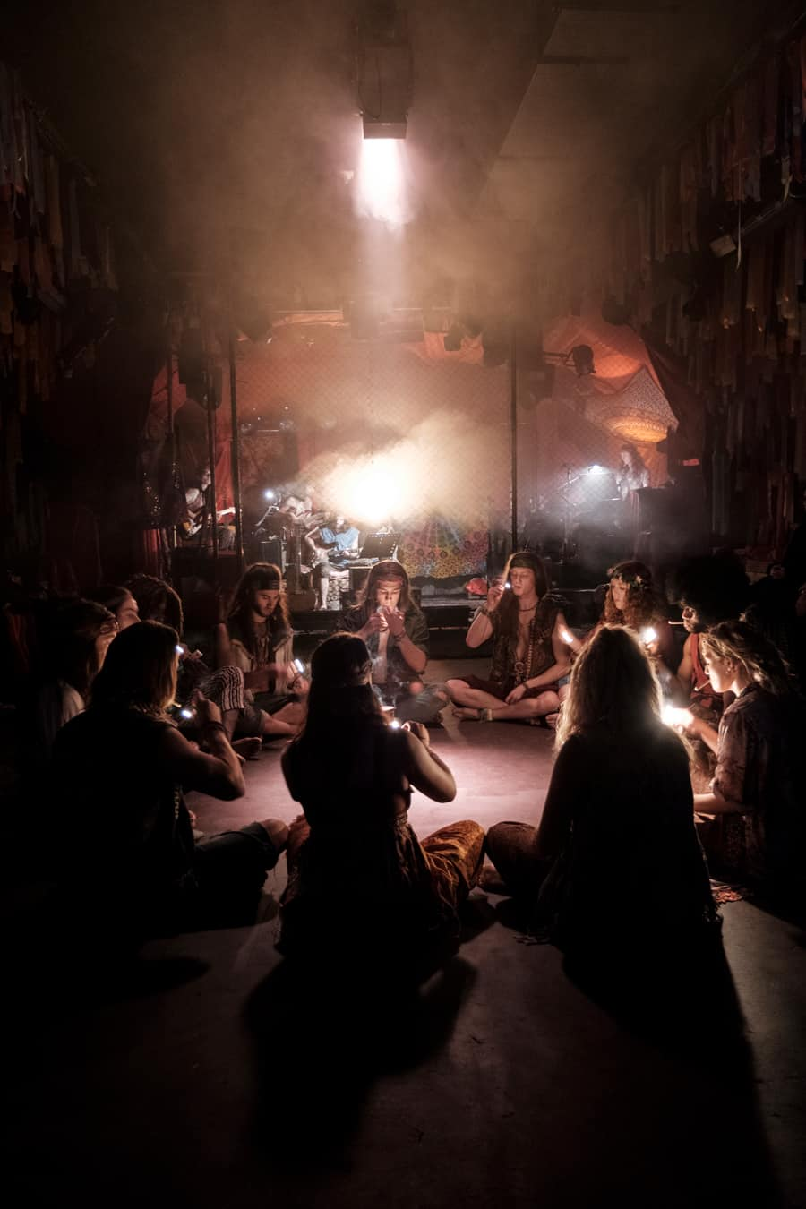 Hair the musical at The Vaults