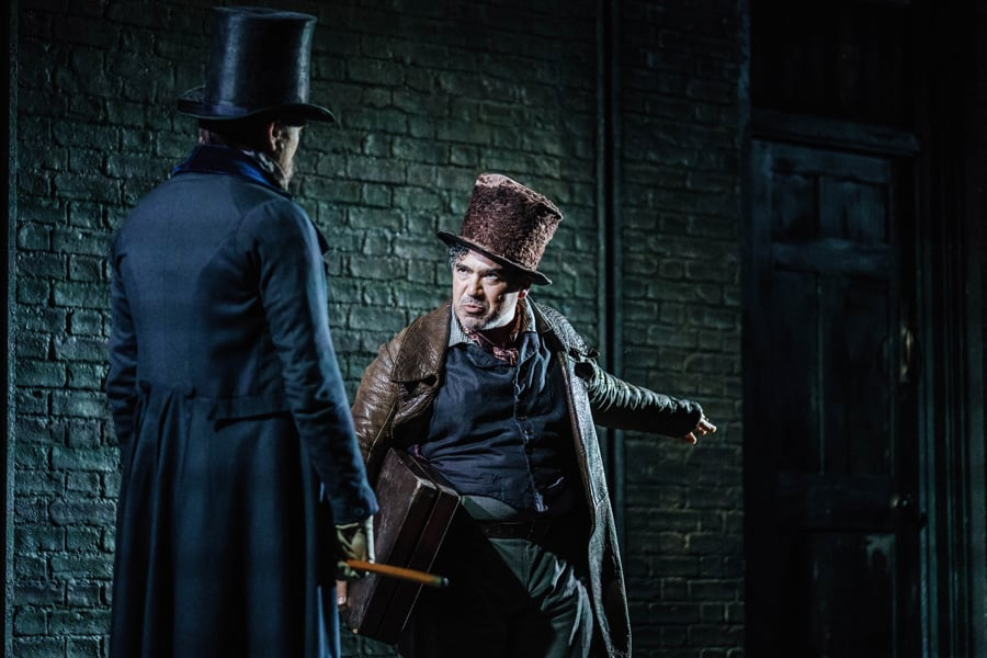Young Marx opens the Bridge Theatre London's newest theatre