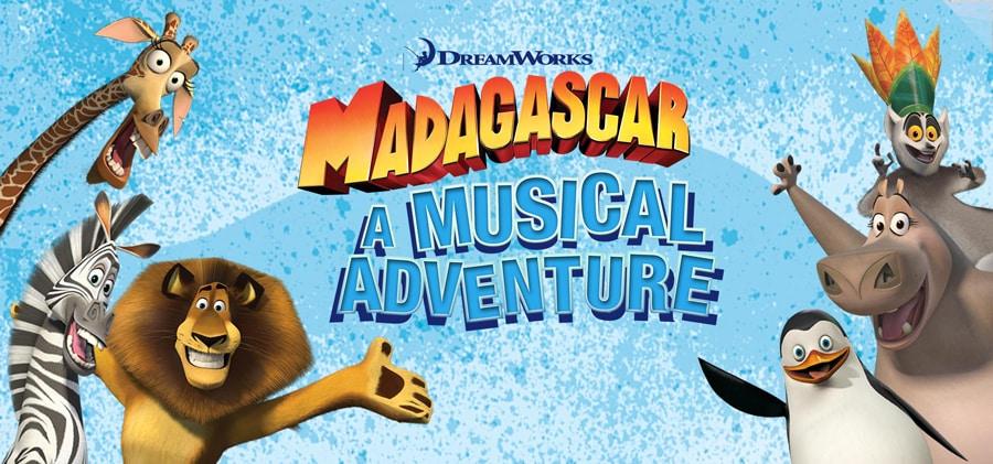 Madagascar Musical Adventure UK Tour