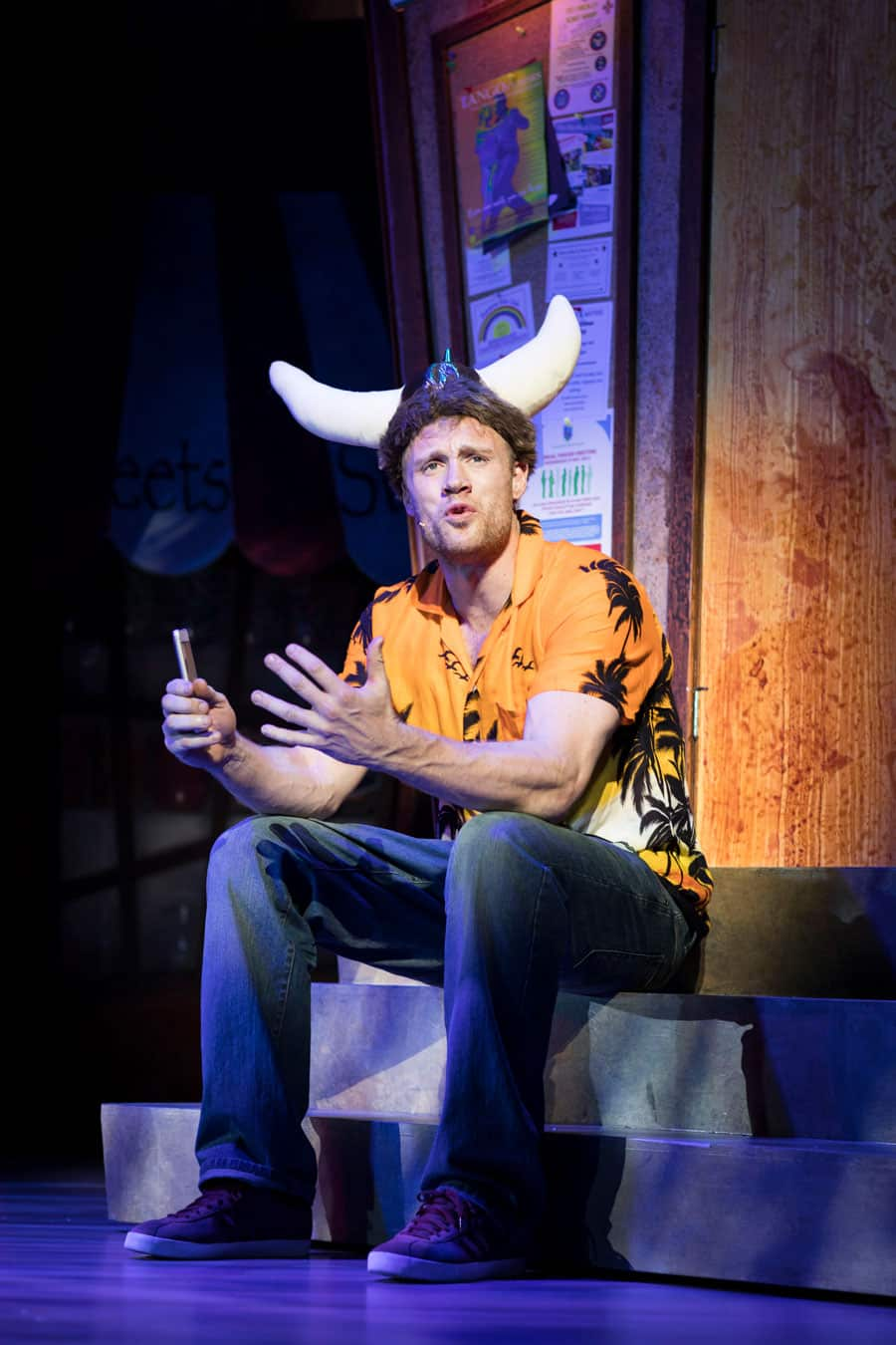 Andrew Flintoff in Fat Friends the musical