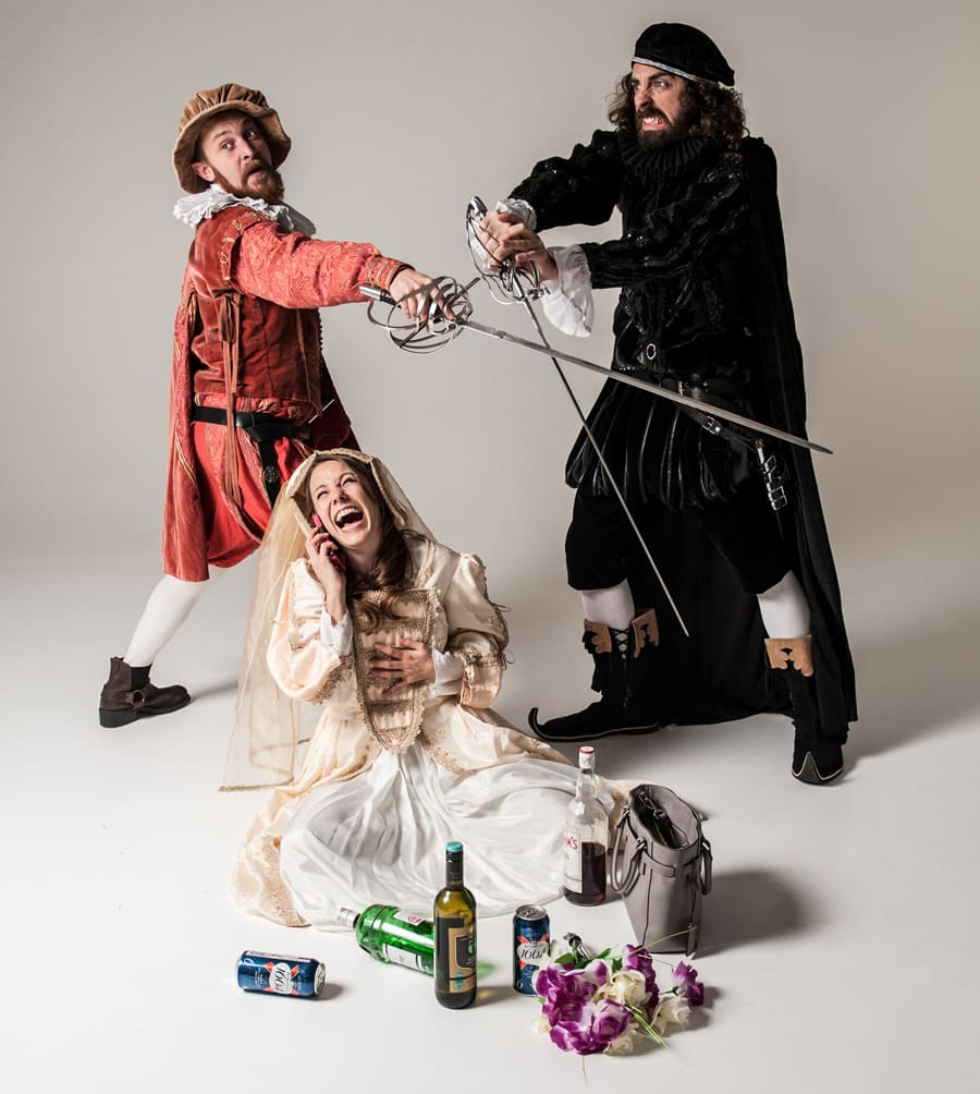 Shit Faced Shakespeare return to the Leicester Square Theatre in 2018