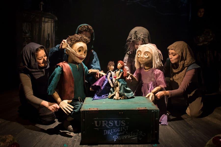 The Grinning Man Musical at Trafalgar Studios