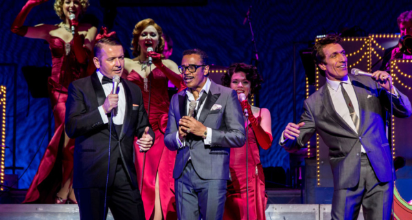 FIRST LOOK: The Rat Pack takeover the Theatre Royal Haymarket