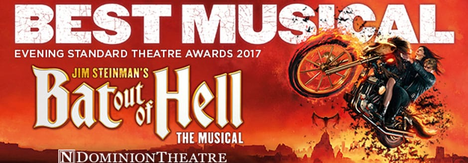 Bat Out Of Hell - the musical at the Dominion Theatre
