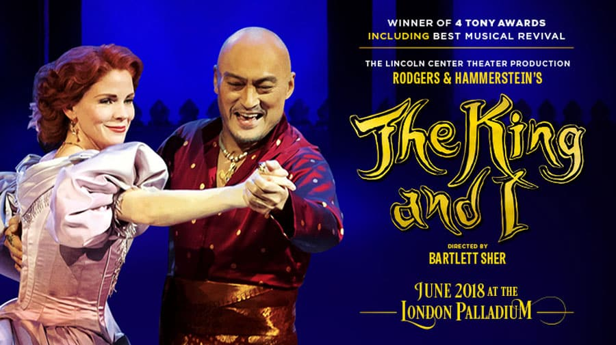 The King and I tickets London Palladium