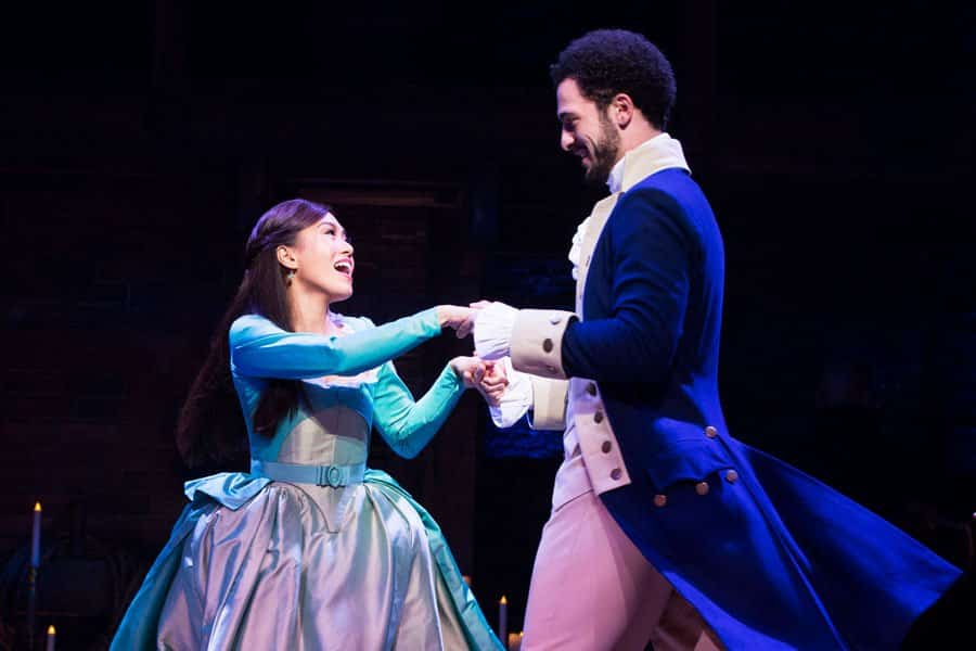 Hamilton the musical London