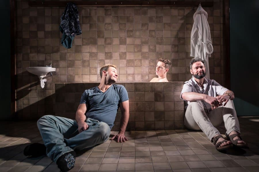 Book tickets for Tommy Murphy's Strangers In Between at Trafalgar Studios 2