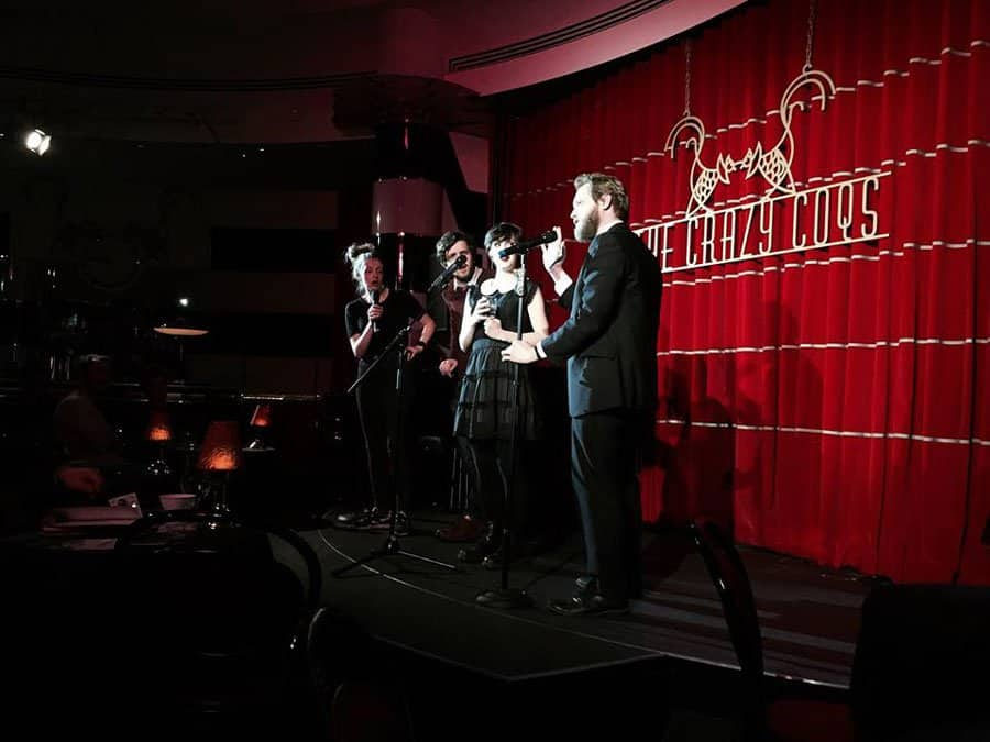 PÖJJ perform as part of The Night at Crazy Coqs