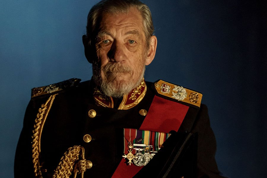 Ian McKellen as King Lear at Duke Of York's Theatre