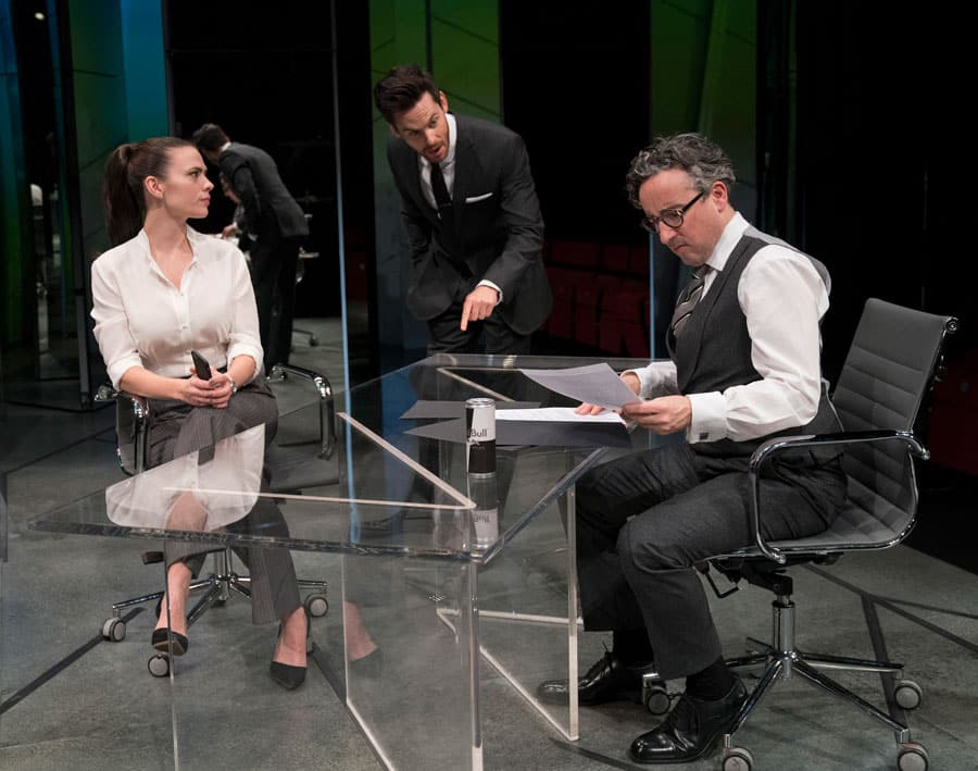 Dry Powder review Hampstead Theatre