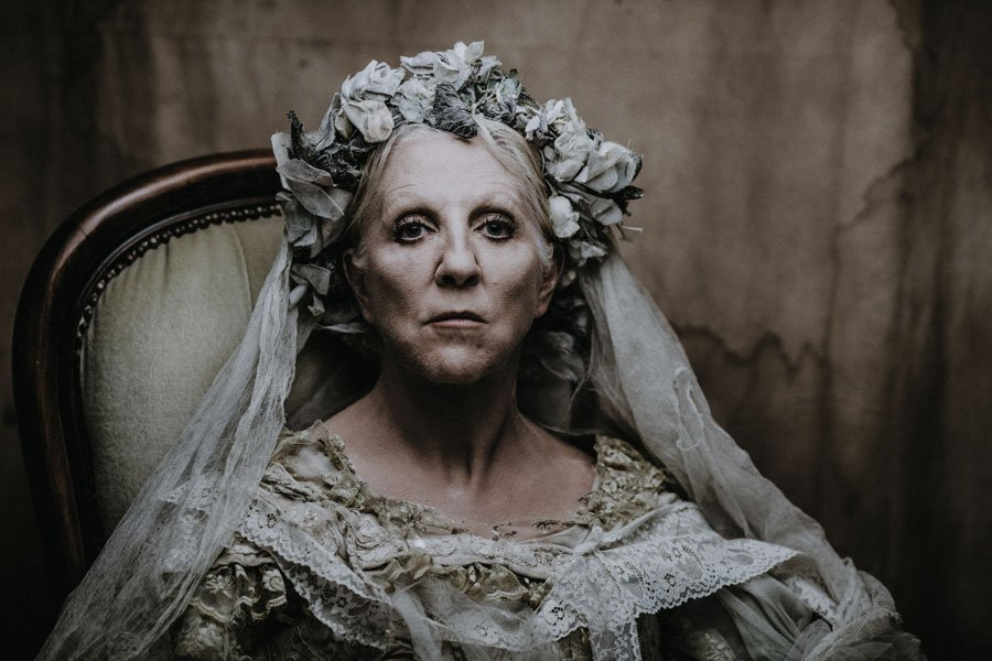 Nichola McAuliffe stars as Miss Haversham in Great Expectations