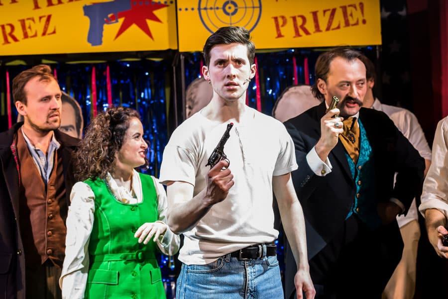 Stephen Sondheim's Assassins at the Pleasance Theatre