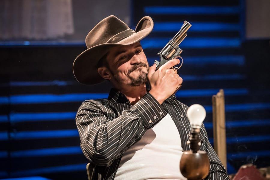 Orlando Bloom in Killer Joe at Trafalgar Studios
