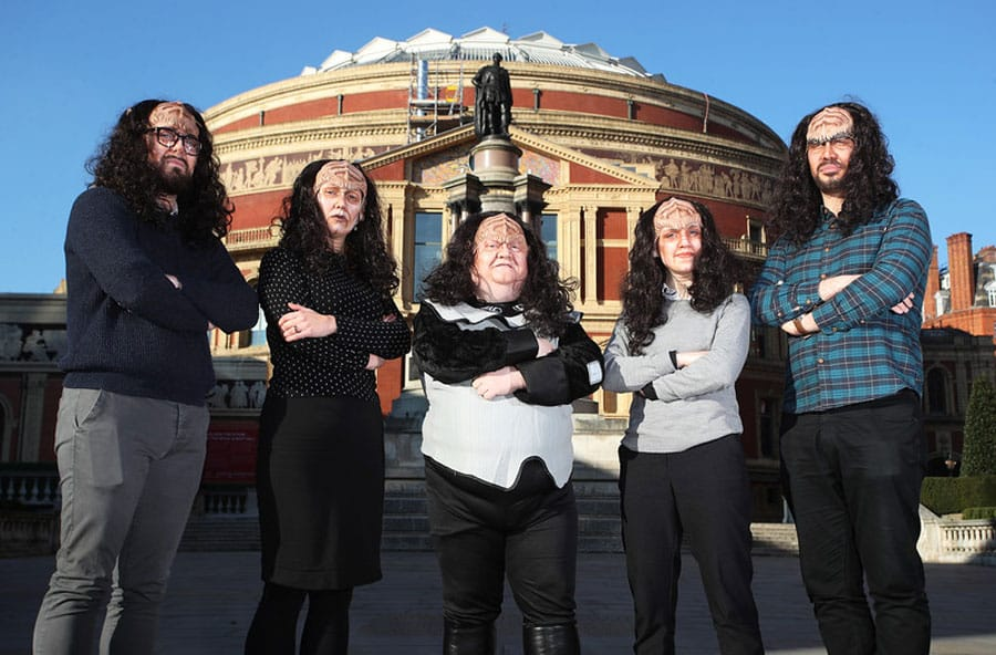 Royal Albert Hall Box Office Staff Learn Klingon
