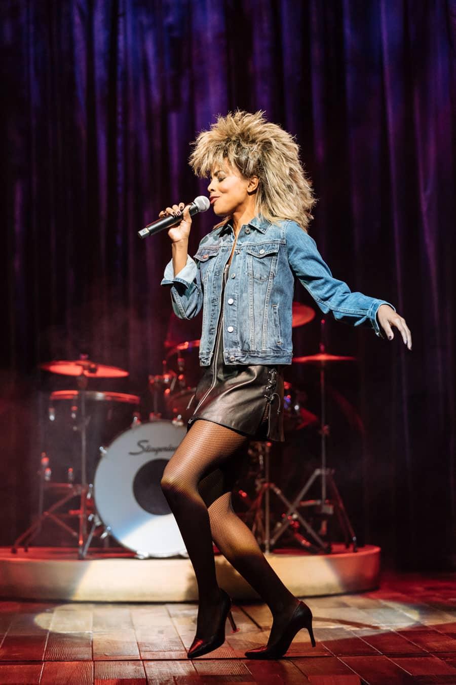 Adrienne Warren as Tina Turner in Tina The Musical