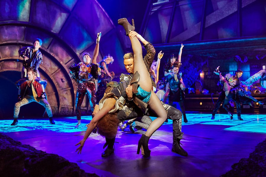 Bat Out Of Hell the musical at Dominion Theatre