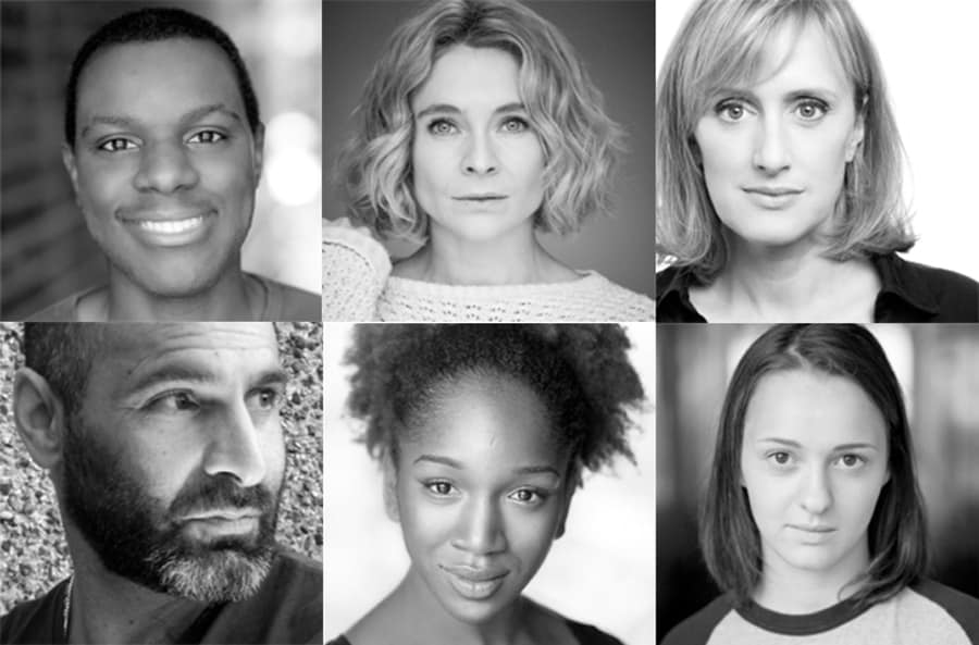 Fun Home Young Vic cast