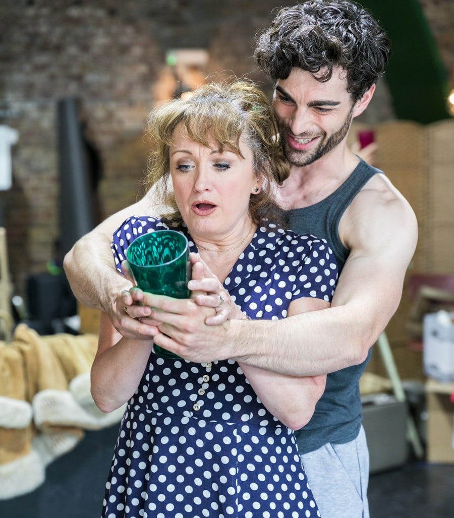The Rink starring Caroline O'Connor at Southwark Playhouse