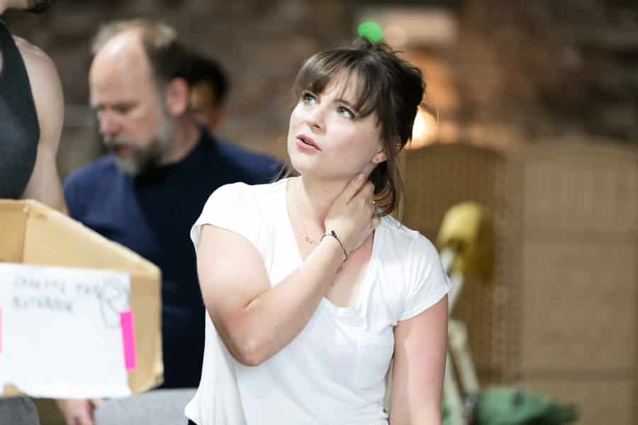Gemma Sutton stars in The Rink at Southwark Playhouse