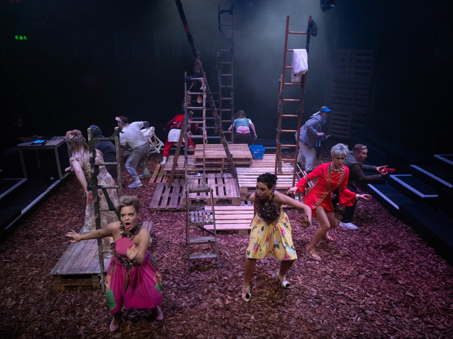 Into The Woods review Cockpit Theatre