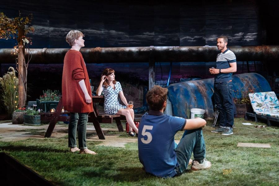 The Bridge Theatre Nightfall review Barney Norris