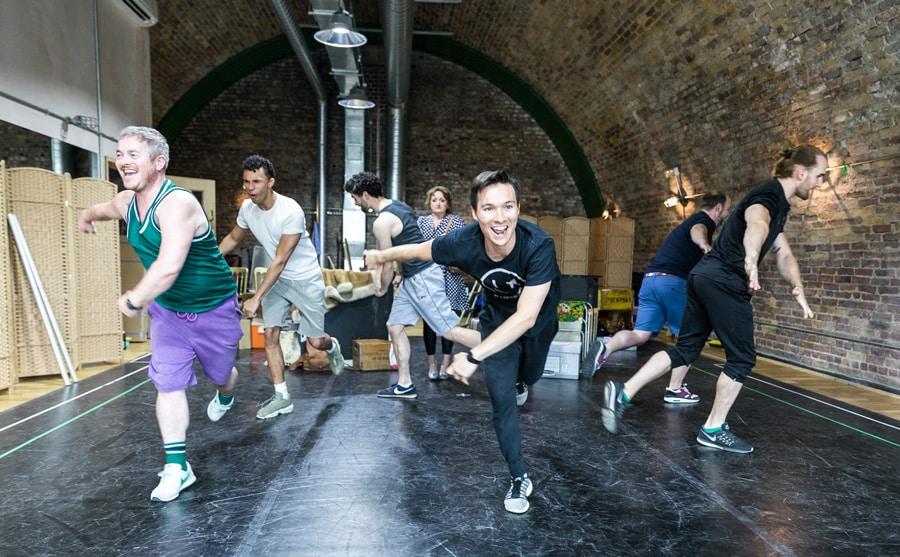 Kander and Ebb's musical The Rink at Southwark Playhouse