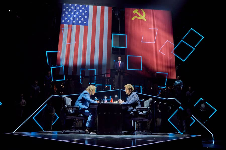 Chess the musical review at London Coliseum
