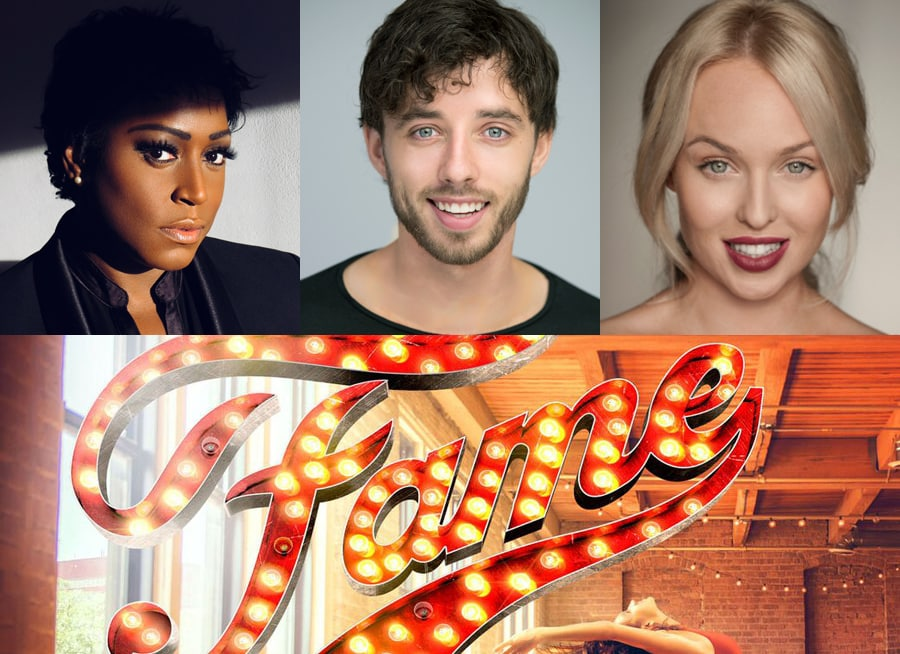 Mica Paris, Keith Jack and Jorgie Porter are to star in Fame UK Tour