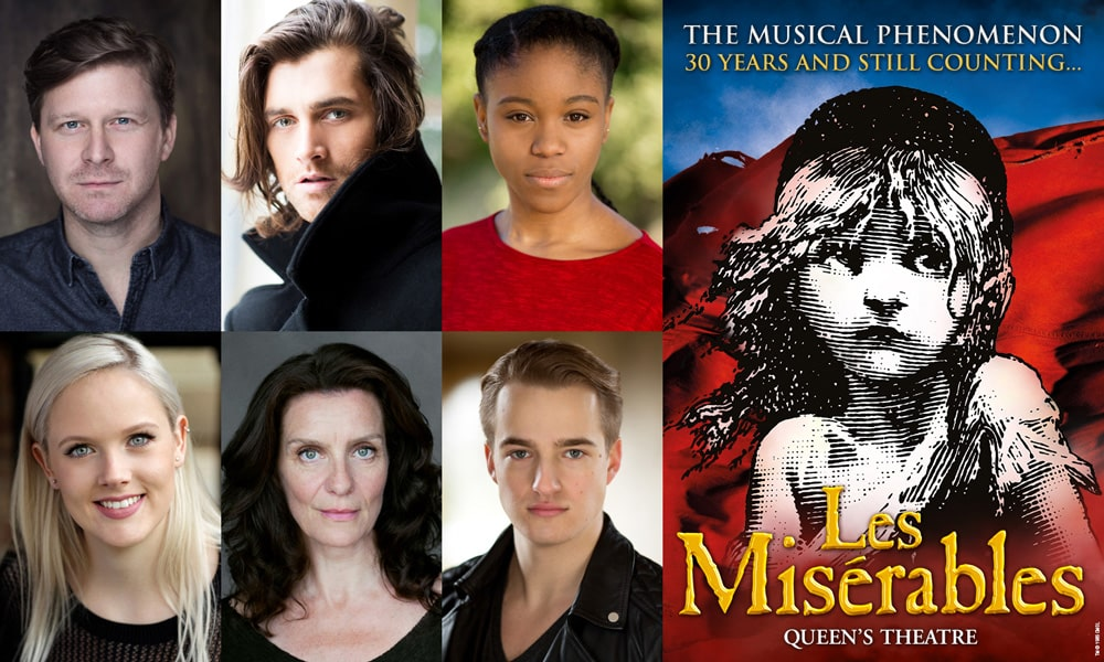 Les Miserables cast change 2018