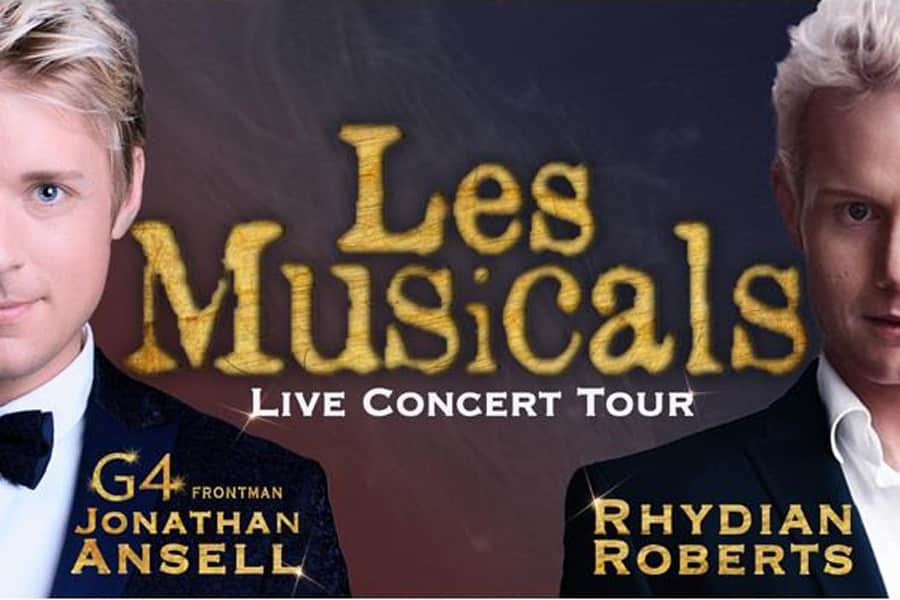 Les Musicals Uk Tour with Rhydian Roberts and Jonathan Ansell
