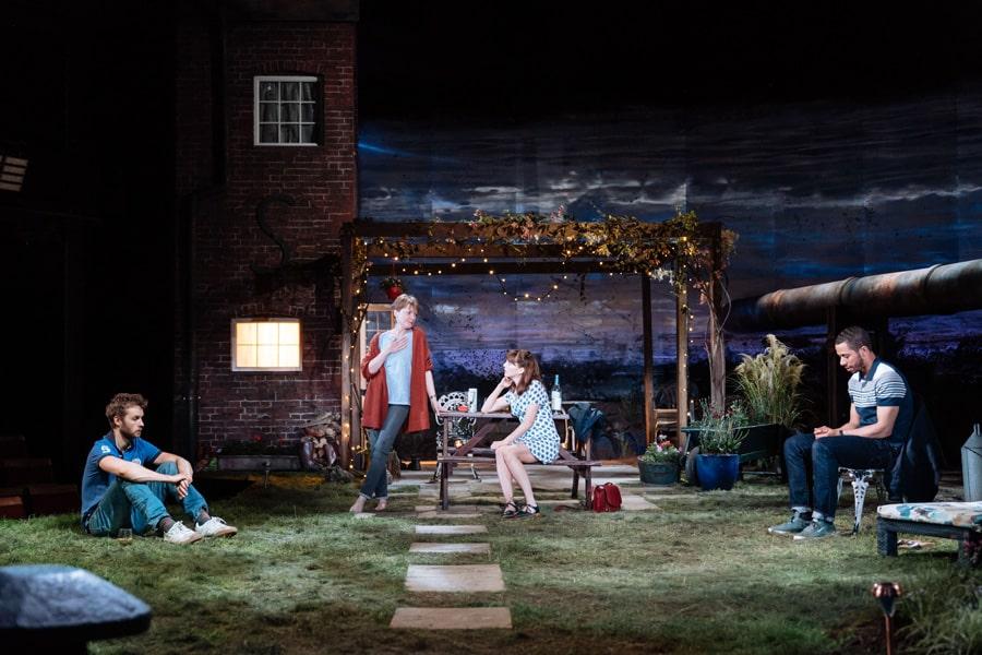 Nightfall at Bridge Theatre