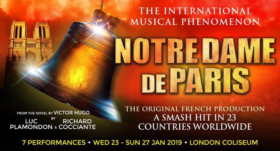 Notre Dame De Paris at the London Coliseum
