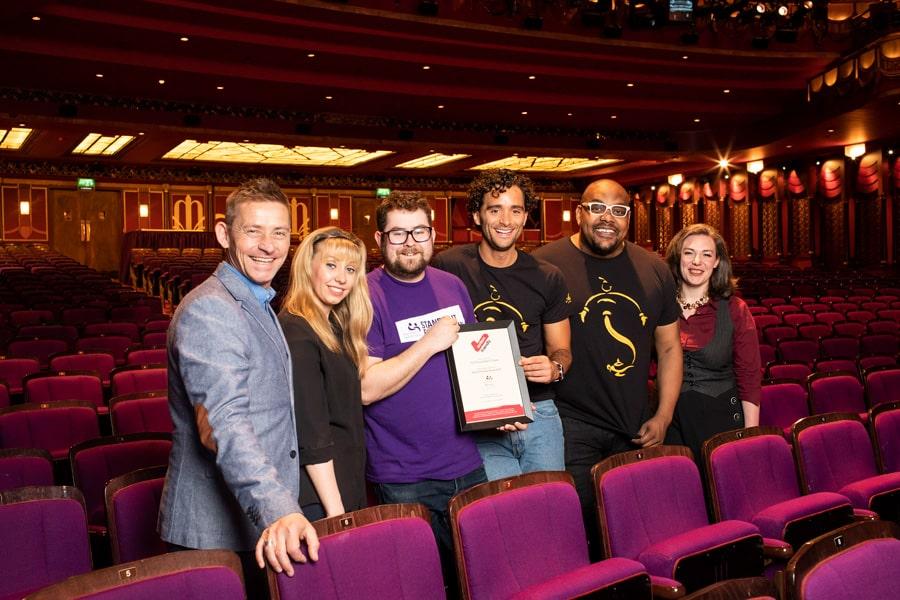 Prince Edward Theatre wins Autism Friendly award