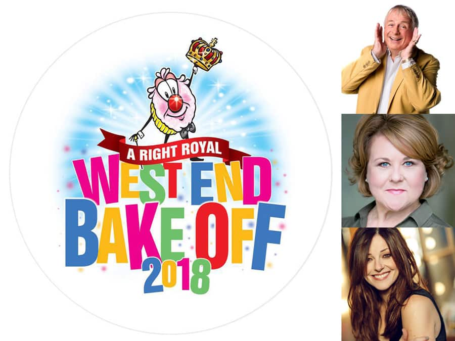 Judges announced for West End Bake Off 2018
